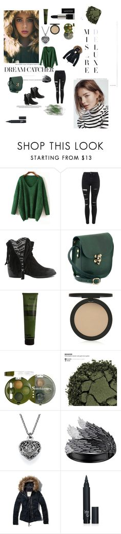 """Untitled #15"" by aliensy ❤ liked on Polyvore featuring Topshop, Qupid, Aesop, Bourjois, L'Oréal Paris, AS29, Abercrombie & Fitch, women's clothing, women and female"