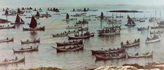 The boats -. South Gjæslingan:.