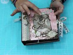 Presentacion Mini Album Mirabelle  Bellaluna crafts Scrapbooking