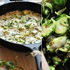 Creamy Brussels Sprouts Dip!