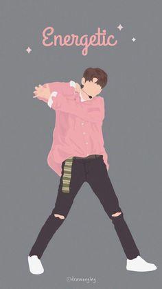 Wanna One Fanart. Boys Wallpaper, Trendy Wallpaper, Wallpaper Iphone Cute, Cute Wallpapers, Ong Seung Woo, Bible Verse Wallpaper, Tumblr Boys, Kpop Fanart, Seong