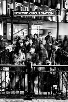 Oxford Circus, London, January 2014. Thanks toyodamanu