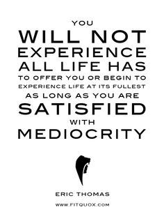 eric thomas life in mediocrity - Google Search
