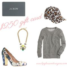 I'm a sucker for a giveaway, especially for J Crew!