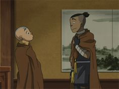 Avatar: The Last Airbender - Aang and Sokka