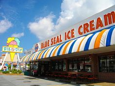 ★ 10th,20th of each month is Big Dip Day! Enjoy 3 flavors for the price of 1! Blue Seal Ice Cream Okinawa.