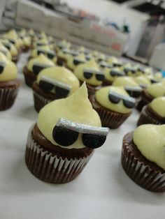 Cool Dude Cupcakes