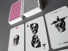 b-umweni: Cool Package Design: Barebones Playing Cards and my 20th B-DAY!!!!!!!!!!!