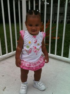 my beautiful granddaughter Syan Simone a week before her first birthday. she will be a year old on 8-12-2012.