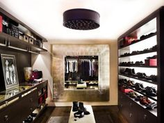 Lighting Ideas for Your Closet : Rooms : HGTV