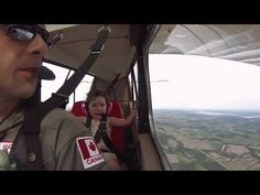 A dad took his 4-year-old daughter on her first aerobatic flight ride and her reaction is priceless | Rare