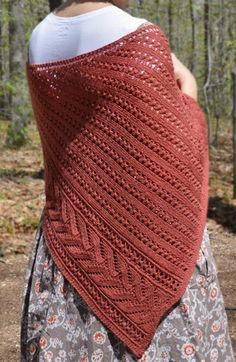 Knitting pattern for Notch Lace Shawl - #ad More pics on Etsy