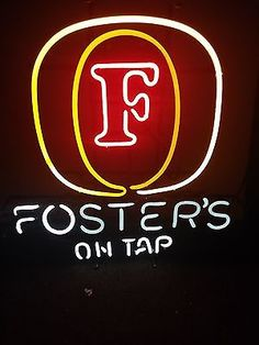 Foster Lager Neon Sign Bar Tavern Australian Beer Collectibles:Breweriana, Beer:Signs & Tins:Other Beer Signs & Tins www.internetauctionservicesllc.com $299.99