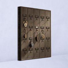 Red Barn Mercantile - Hotel Key Rack