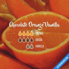 Chocolate Orange Vanilla - Essential Oil Diffuser Blend