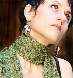 Crochet, Broomstick Lace Pattern - Crochet Lace Scarves