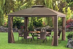 Wilson Amp Fisher 174 10 X 12 Windsor Dome Gazebo At Big Lots