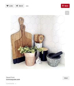 Product:Kitchen Storage Canister. Use as: Utensil holder.