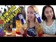 Land Mine Cocktail will blow your panties off! - Tipsy Bartender - YouTube << there is a lot of Everclear in this..