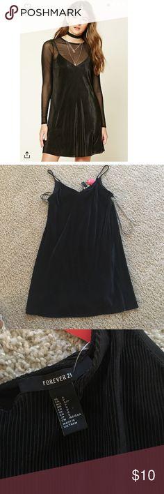 Black dress slip never worn Black dress slip never worn Forever 21 Dresses Mini