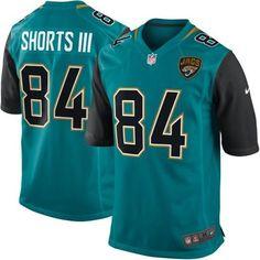 af5cd7129db Nike NFL Jacksonville Jaguars 84 Cecil Shorts III New 2013 Teal Game Jersey  $22.99