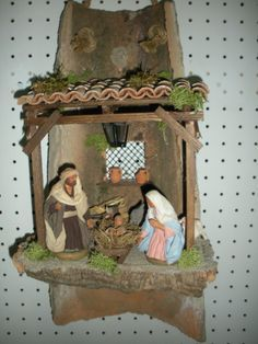 Christmas Art, Christmas Decorations, Xmas, Christmas Ornaments, Holiday Decor, Nativity Stable, Diy Weihnachten, Christmas Traditions, Sewing Crafts