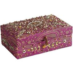 Indian jewelry box Things of Beauty Pinterest Indian jewelry