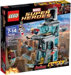 Super Heroes - LEGO SUPER HEROES Attack on Avengers Tower for sale in Nelspruit (ID:206088894)
