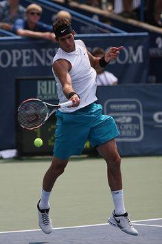 Juan Martín del Potro, 8º en el ranking de la ATP.