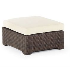 Palermo Ottoman With Cushion In