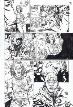 DMZ page 13 -  Nathan Fox Comic Art