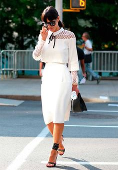 More New York Fashon Week Street Style: s/s 2015 | Fashion, Trends, Beauty Tips & Celebrity Style Magazine | ELLE UK