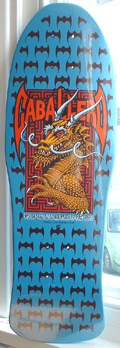 "Powell Peralta - Steve Caballero ""Dragon and Bats"" mini 1988"