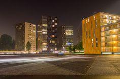 Breda Chassépark by night