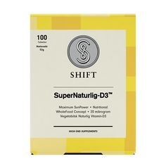 SuperNaturlig D3 | Shift# vegan Vitamin D 3