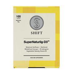 SuperNaturlig D3 | Shift# vegan Vitamin D 3