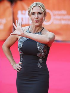 KATE WINSLET at the film's premiere on Sept. 14 in Toronto