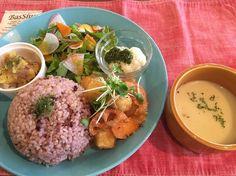 The PINK WEED cafe 凍り豆腐の洋風おろし和 #vegan #vegetarian #vegankobe #kobe #ヴィーガン #ベジタリアン #動物性不使用 #菜食 #神戸 (The PINK WEED cafe)