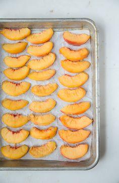 White wine peach slush @dessertfortwo
