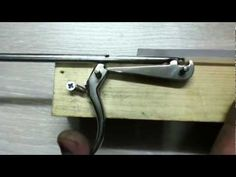 gatilho arpão de madeira - spearfishing trigger mechanism - youtube  crossbow, archery, revolvers,
