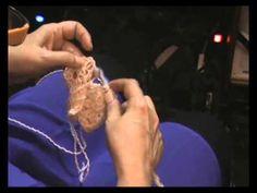 ▶ Lezione di Uncinetto: Uncinetto Tunisino Doppio - YouTube