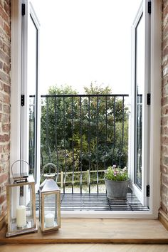 French doors with juliette balcony | Dream Houses and Ideas | Pinterest | Juliette balcony Balconies and Doors : balcony doors - pezcame.com