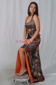 Bridesmaids camo dress
