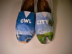 NEED!!!! owl city shoes