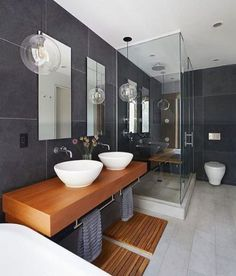 Townhouse Designed by Etelamaki Architecture located in #Brooklyn #NewYork. - #bathroom #sink - Architecture and Home Decor - Bedroom - Bathroom - Kitchen And Living Room Interior Design Decorating Ideas - #architecture #design #interiordesign #homedesign #architect #architectural #homedecor #realestate #contemporaryart #inspiration #creative #decor #decoration