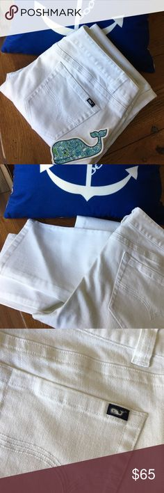 Spotted while shopping on Poshmark: New without Tags Bright white🌷🌸! #poshmark #fashion #shopping #style #Vineyard Vines #Pants