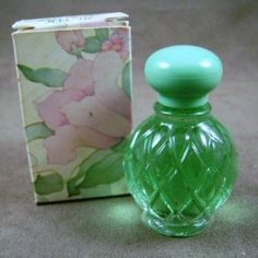 """Vintage Avon perfume: Hawaiian White Ginger. I remember this. There was a pink one that had Roses Roses Perfume and a yellow one with Honeysuckle. """"Beauty never goes out of fashion"""" www.youravon.com/retrobeauty"""
