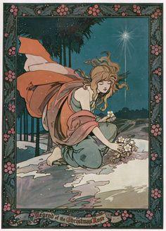 Vintage art nouveau illustration