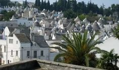 Alberobello is a small town located in the region of Puglia, southern Italy. It is famous for its unique prehistoric trulli buildings.These Buildings are coo. Alberobello Italy, Tiny Boat, Unique Buildings, Le Jolie, Vatican City, Heaven On Earth, Small Towns, Italy Travel, San Francisco Skyline