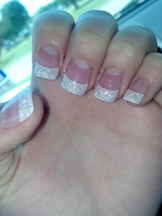 glitter nails next time I do my nails I think yes.